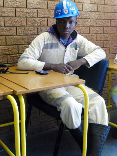 Nyiko Makhubela is determined to overcome his personal setbacks to achieve his dream of becoming a mining engineer. Photo: Provided.