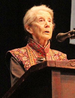 Nobel laureate Nadine Gordimer. Photo: Wits Vuvuzela.