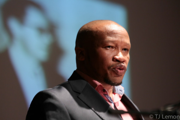 NO MORE APATHY: Irvin Jim emphasisied the importance of meeting the demands of the freedom for equality and democracy. Photo:TJ Lemon