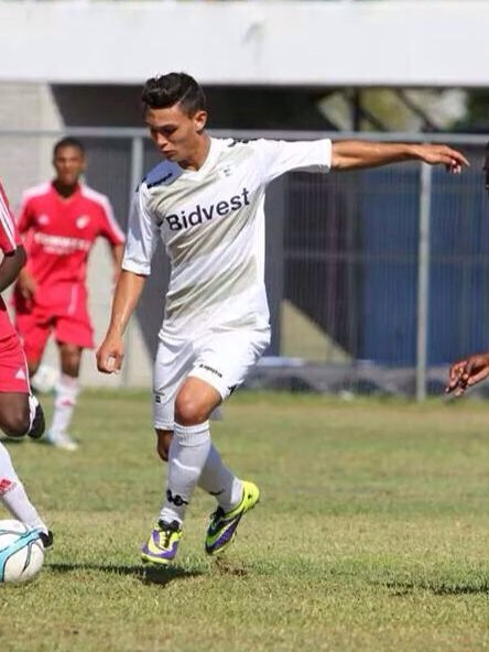 WONDER KID: Attacking player Liam Jordan has attracted interest overseas, he arrived back in South Africa this week to continue training with Bidvest Wits first team. Photo: Provided