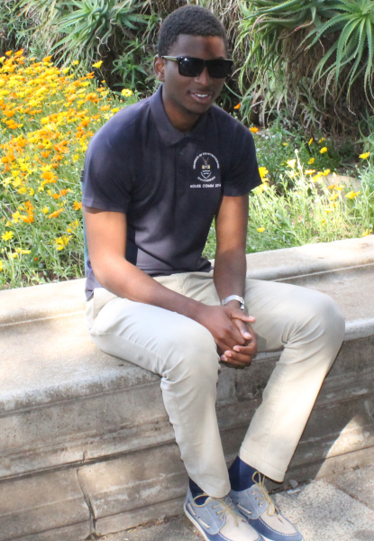 DREAM IT: Gwinyai Dube was able to soar to great heights at Wits through belief in himself. Photo: Ilanit Chernick