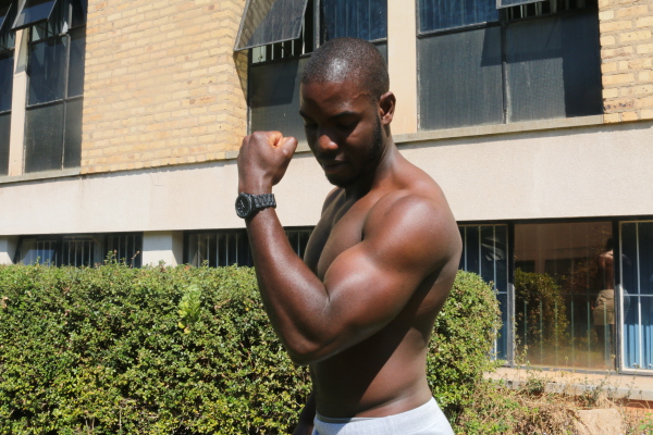 """MANLY-MAN: The women interviewed said they wanted a man who could """"handle"""" them.  PHOTO: Kudzai Mazvarirwofa"""