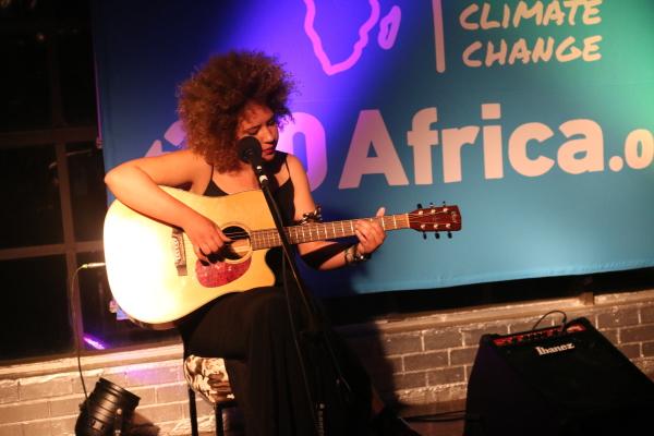 Art-Activist: Neo-soul artist Nicole Daniella lends her voice in the fight for climate change. Photo: Palesa Tshandu