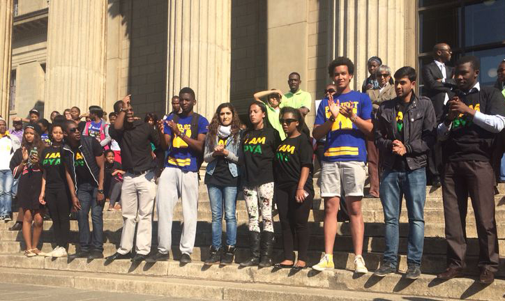The SRC for 2014/2015 are made up of the PYA and Project W, with no one from the EFF. Photo: Tendai Dube