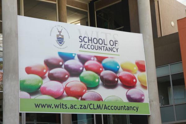 NOT A COLOURFUL SITUATION: 2nd year students at the School Of Accountancy are unhappy over course changes implemented at the beginning of this year.