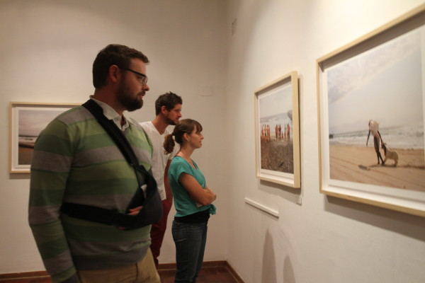 A LOCAL PHOTOGRAPHIC NARRATIVE: Students and lecturers of photography came to the Market Photography Workshop in Newtown to experience Matt Kay's exhibition on Kwa Zulu Natal's coastline.