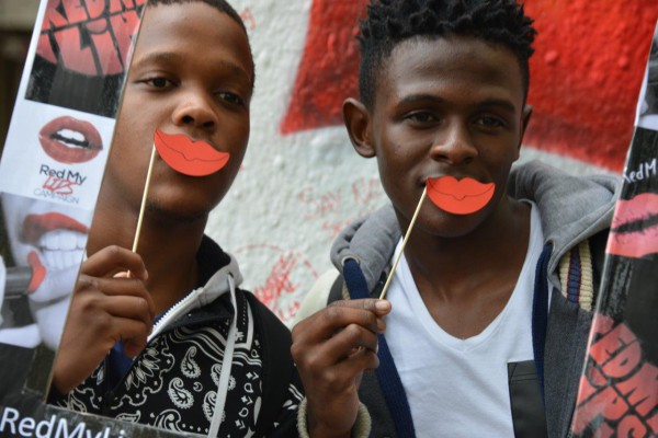 Wits guys also joined in to show their support at the event. Photo: Provided.