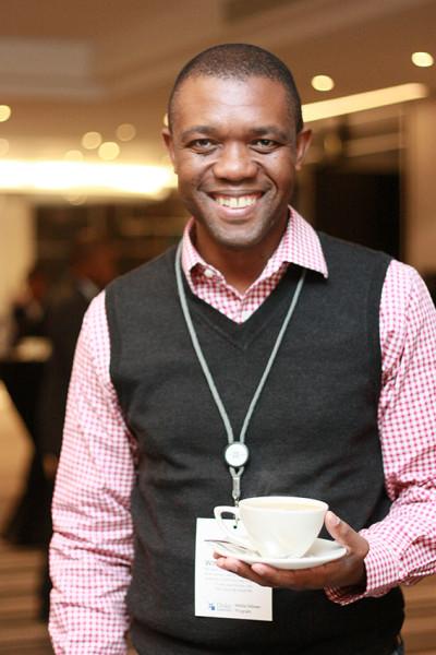 COVERING THE BIG NEWS: Business Day editor Songezo Zibi. Photo: Dinesh Balliah.