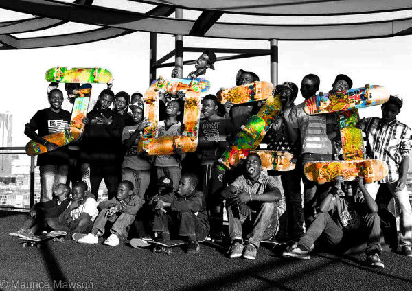Jozi Skateboarders will be out at the Maboneng indoor skatepark to celebrate Go Skateboarding Day. Photo: provided