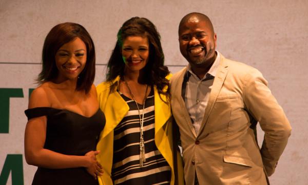 The Nedbank igniters: Bonang Matheba, Zoey Brown and Ciko Thomas