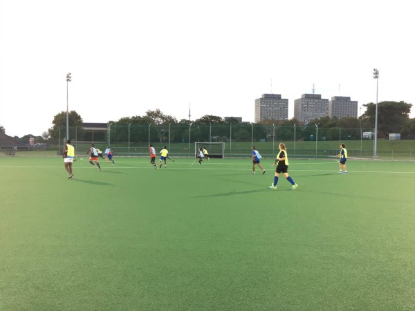 GAUTENG REPRESENTATIVES: Some of the hockey players during preparation Photo: Provided