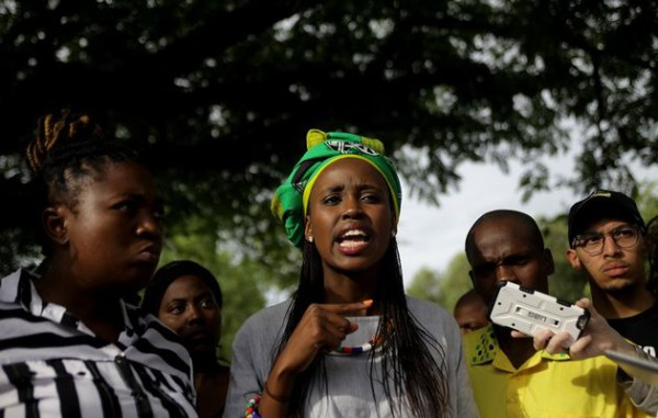 Speak as an individual: Student activists of #FeesMustFall do not share a page with wits src president Nompendulo Mkatshwa