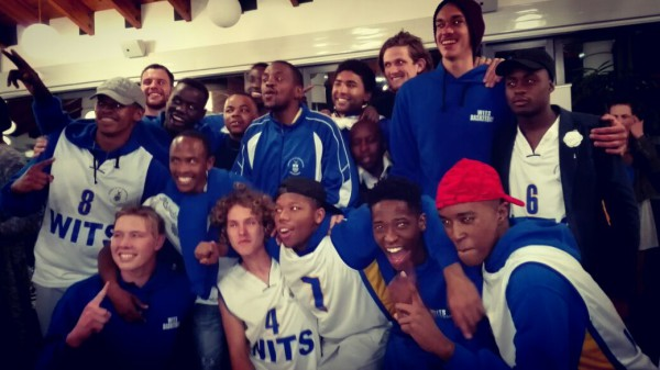 Wits Bucks claims its first ever title in the 2016 USSA basketball tournament. Picture: Provided