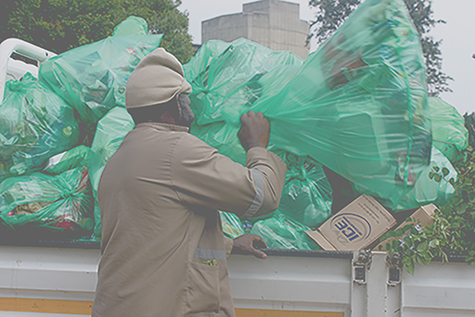 Wits ground staff working with organic waste alleged that they are not provided with standard protective gear.