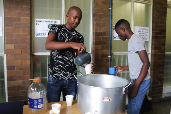 Fight against hunger continues on campus. Wits DASO to have a car wash fundraising event for WCCO.