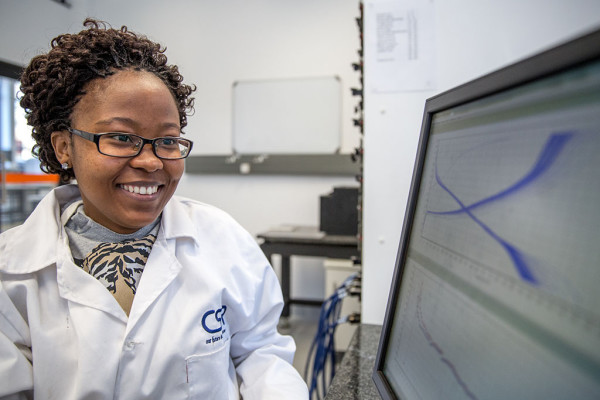 CHARGED UP: Funeka Nkosi will be heading to Germany for prestigious Lindau Nobel meeting Photo: Provided