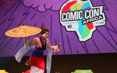 #ComicCon gets fierce and fiery